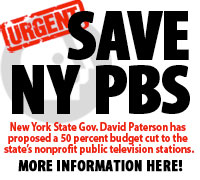 budget cut will seriously impair the ability of New York's PBS